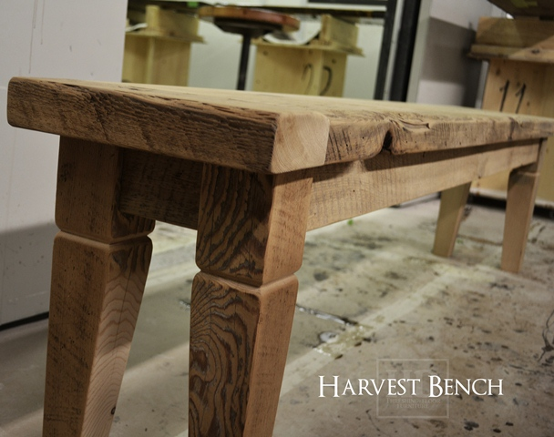 Harvest Table Style Bench Blog