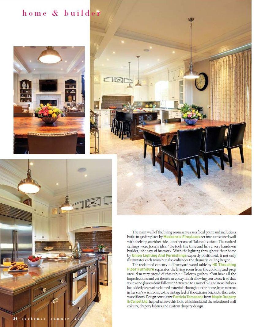 Hd Threshing Floor Furniture Is In A Magazine Again Blog