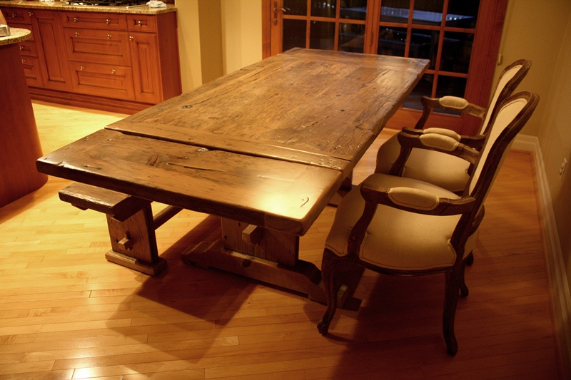 Grey Reclaimed Wood Dining Tables | Blog