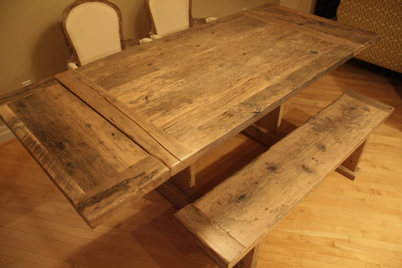 Grey Reclaimed Wood Dining Tables Blog
