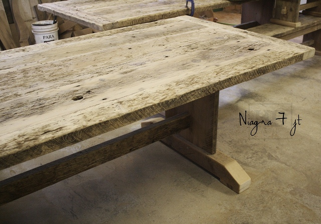 7 Ft Reclaimed Wood Table Blog
