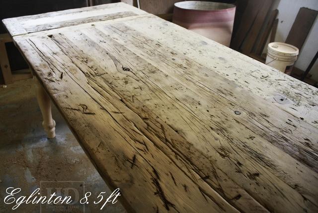Custom Reclaimed Wood Harvest Table In Toronto Blog