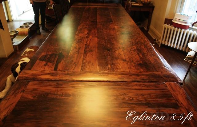 Reclaimed Wood Harvest Tab...