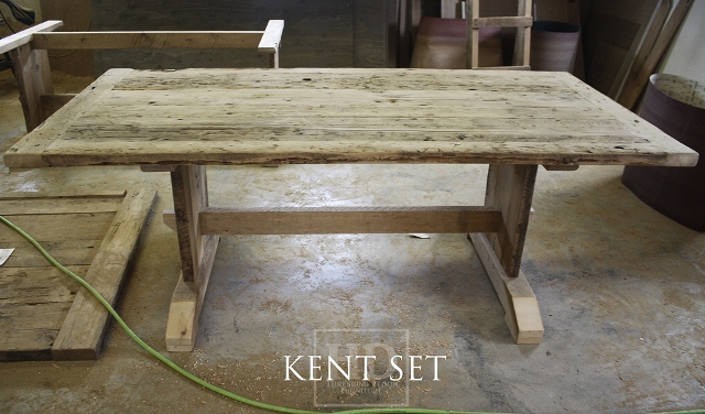 Unfinished Reclaimed Wood Table