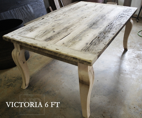 Our Reclaimed Wood Harvest Tables in Toronto
