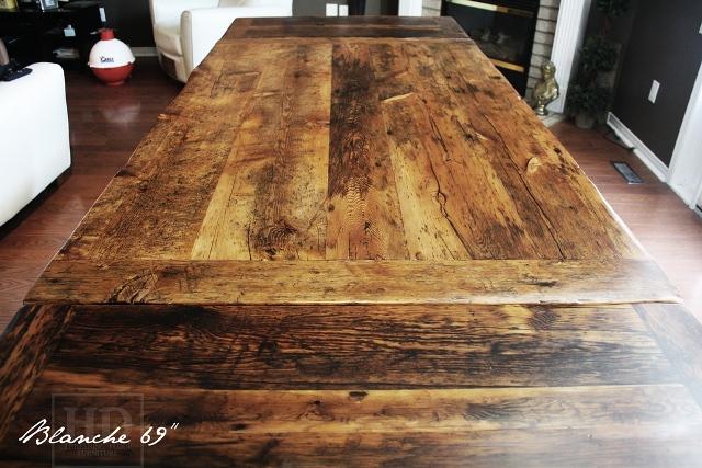 reclaimed wood tabletop 1