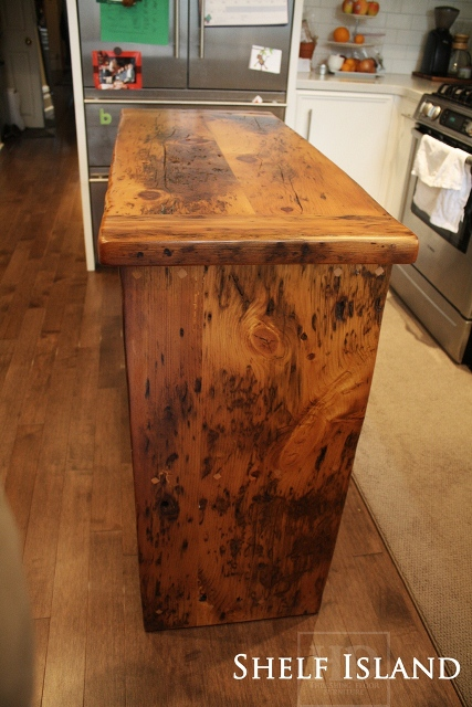 Our Reclaimed Wood Islands Blog