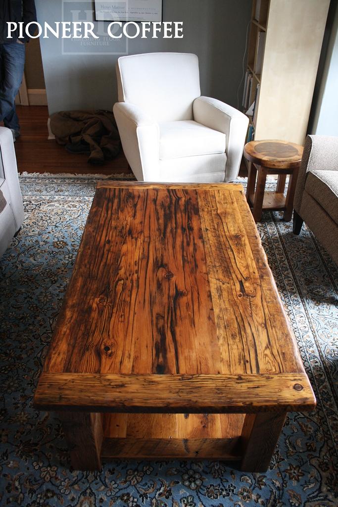 Custom Barnwood Coffee Tables Blog