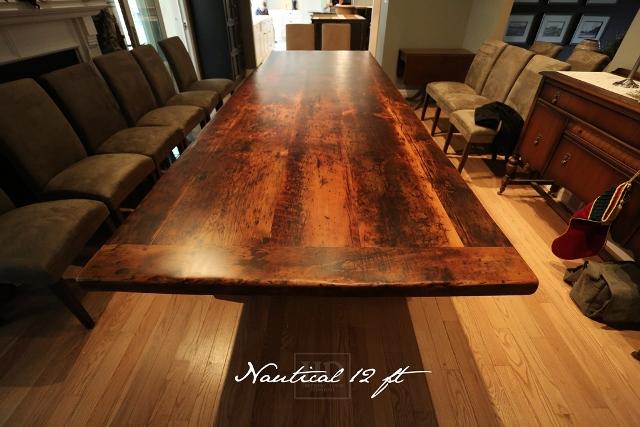 Big Pine Reclaimed Wood Trestle Table Blog