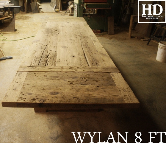 Amazing Warm Salvaged Wood Trestle Table In Georgetown ON  Blog