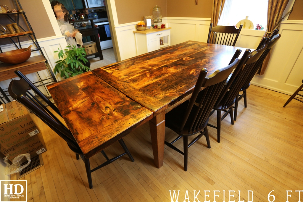 Our Rustic Harvest Tables Blog