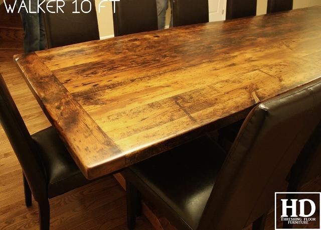 rustic wood table caledon 3