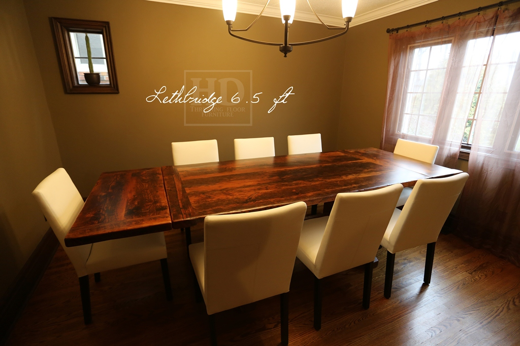 Trestle Tables with Leaves