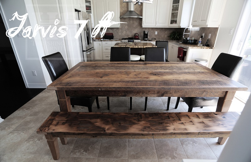 Gray Reclaimed Harvest Table. Reclaimed Wood Tables with Greytones Treatment   Blog