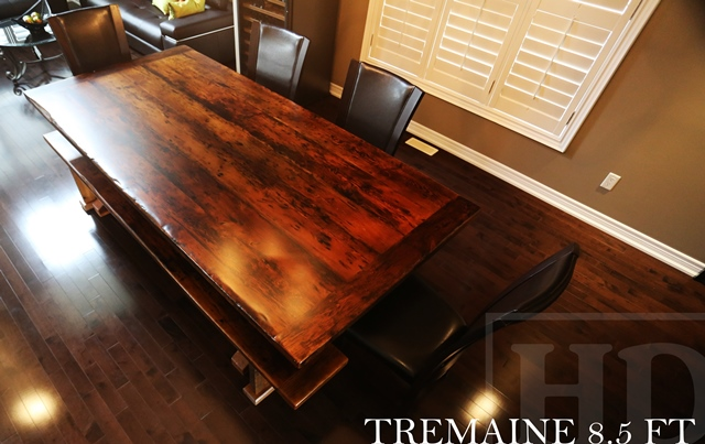 Beautiful Reclaimed Wood 3 Plank Post Table In Grimsby Ontario