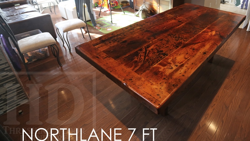 Toronto Reclaimed Wood Table. Modern Reclaimed Wood Table in Toronto Home   Blog