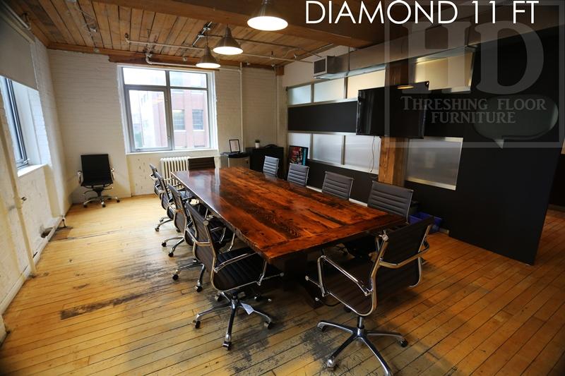 Toronto Reclaimed Wood Boardroom Table Blog - Reclaimed wood boardroom table