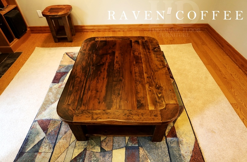 Rustic coffee table gerald reinink 3 blog for Coffee table 48 x 36