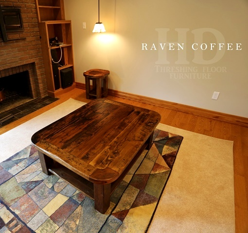 Rustic coffee table made from reclaimed hemlock blog for Coffee table 48 x 36