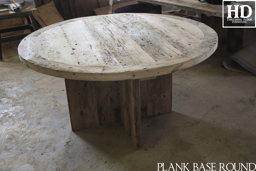 modern round table reclaimed wood table kitchener ontario cool chair decoration ideas