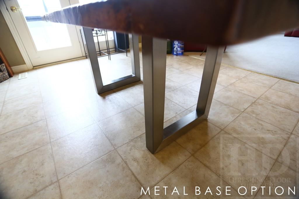 Metal Base Reclaimed Wood Tables Blog