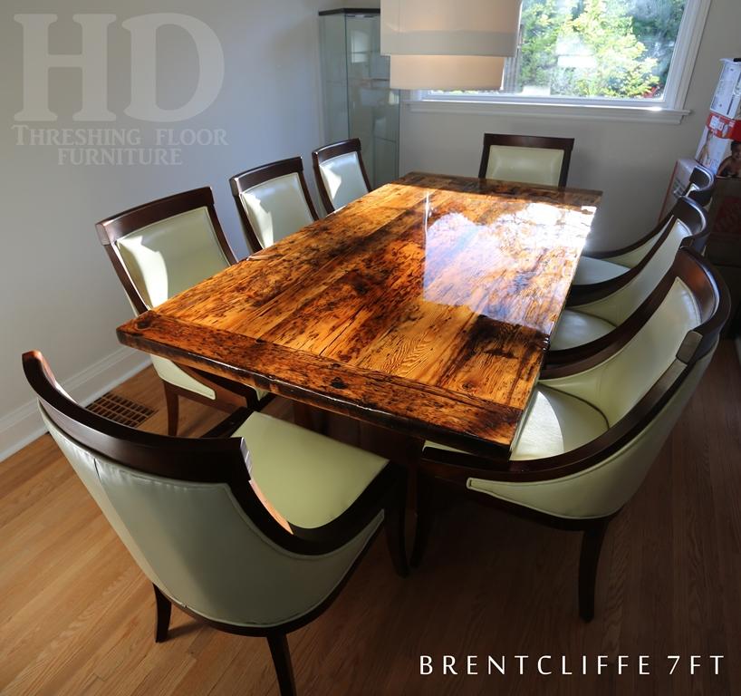 Kitchen Table Alternatives: High Gloss Alternative On A Modern Toronto Table