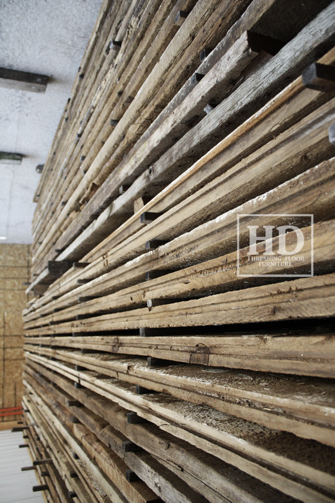 A closer look at our favourite raw material reclaimed for Threshing floor