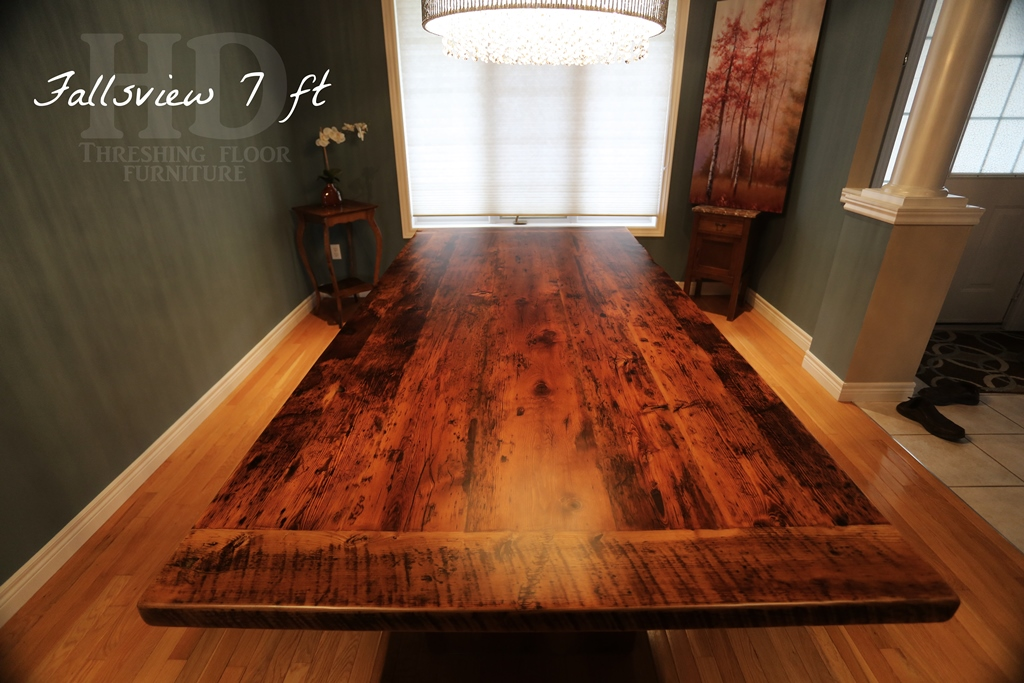 Reclaimed Wood 3 Plank Post Table In Grimsby Ontario