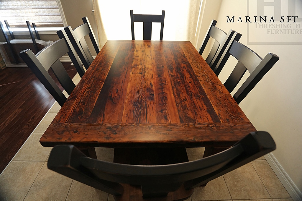 Harvest Tables Toronto Reclaimed Wood Gerald Reinink HD Threshing