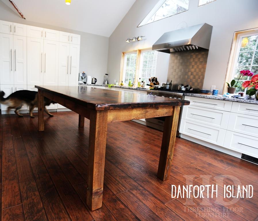 Brand-new Harvest Design Reclaimed Wood Island in Danforth, Toronto | Blog NK22