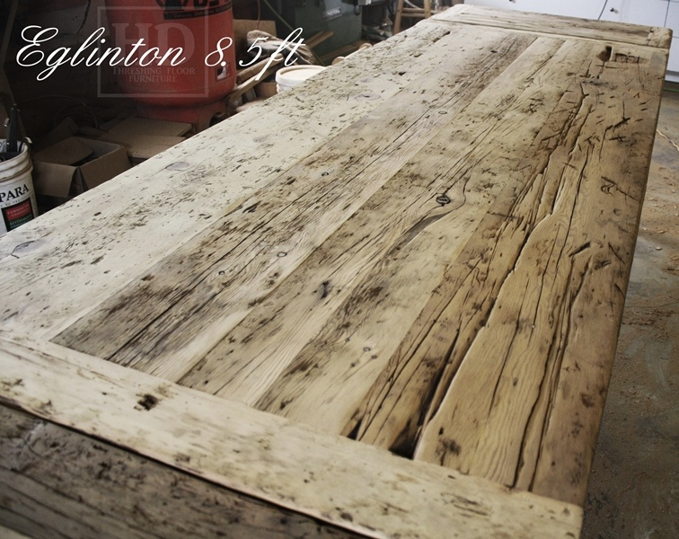 Reclaimed Wood Dining Table, Harvest Tables Toronto, Reclaimed Wood Tables  Ontario