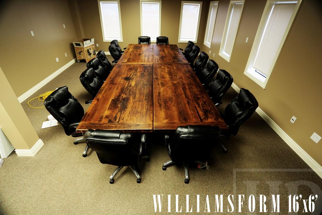 Tremendous Reclaimed Wood Boardroom Table London Ontario Hd Threshing Interior Design Ideas Philsoteloinfo