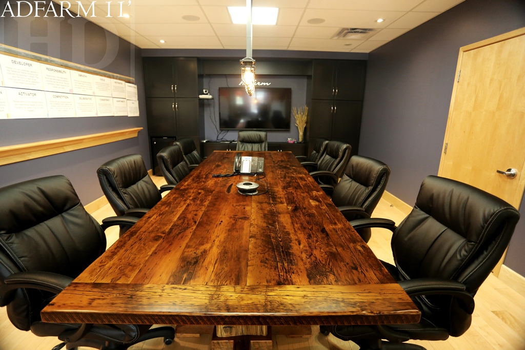 Reclaimed Wood Boardroom Tables Guelph Ontario Hd Thre 13 Blog
