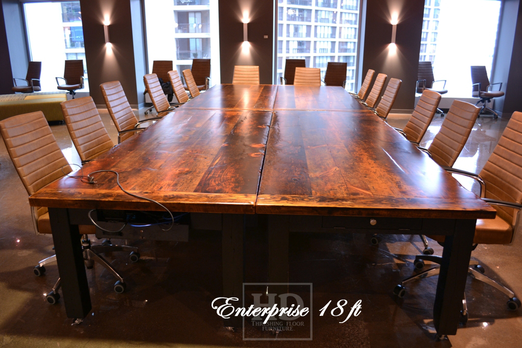 Reclaimed Wood Boardroom Tables Ontario, Boardroom Table, Reclaimed Wood  Tables Ontario, Gerald Reinink