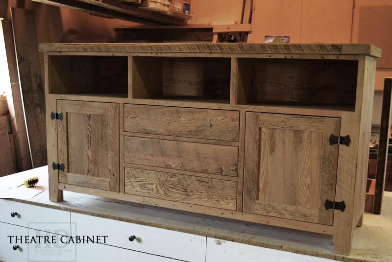 Reclaimed Wood Cabinet TV Entertainment Unit Gerald Reinink (5) | Blog