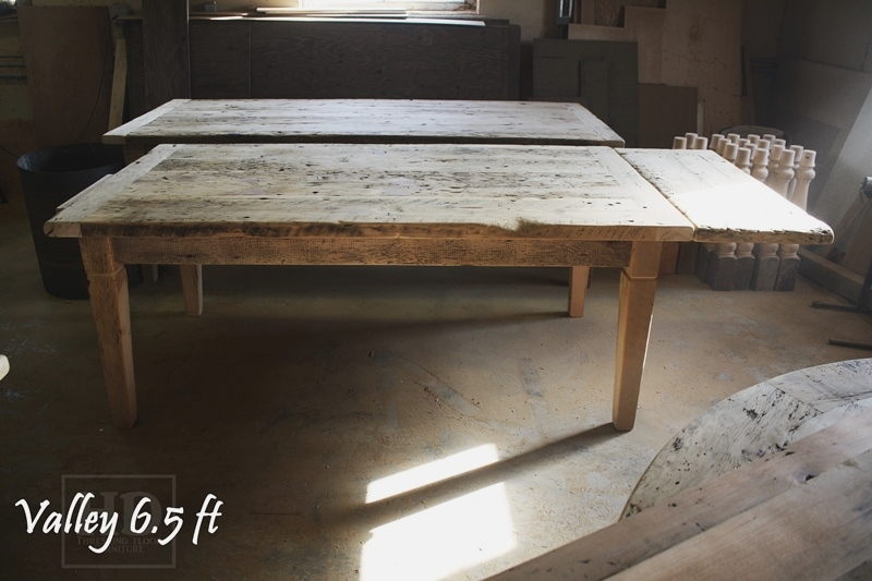 WoodstockOntario Reclaimed Wood Harvest Table  Blog