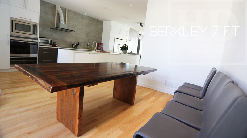 Reclaimed Wood Tables Ontario Dining Modern