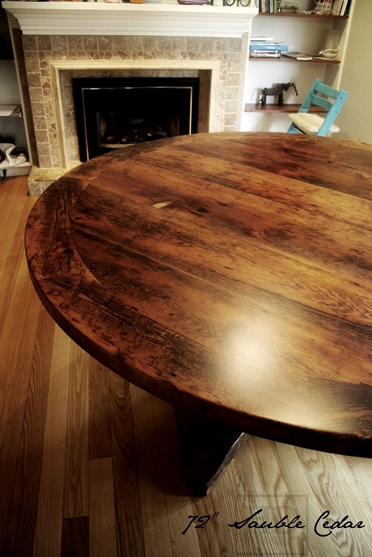 Round Wood Dining Table Toronto Roundtables : Reclaimed Wood Round Dining Table Toronto HD Threshing Gerald Reinink 4 from roundtables.co size 530 x 793 jpeg 202kB