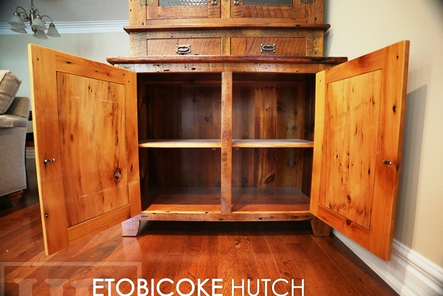 Details: Reclaimed Hutch Display Cabinet U2013 4 Doors U2013 2 Drawers U2013 Premium  Epoxy/matte Polyurethane Finish U2013 Antique Copper Lee Valley Hardware U2013  Crown ...