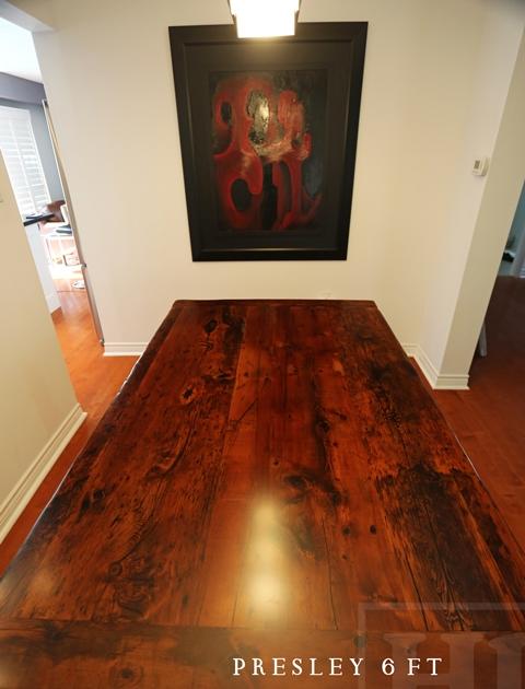 Reclaimed wood kitchen table in etobicoke ontario home blog for Hardwood floors etobicoke