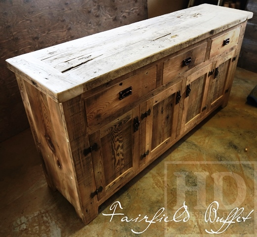 Kitchen Cabinets London Ontario: Reclaimed Wood Buffet Conole In London, Ontario