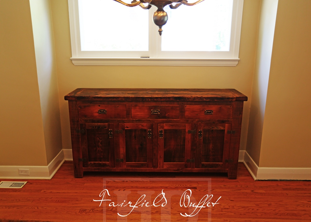 Reclaimed Wood Buffet Conole In London Ontario Blog