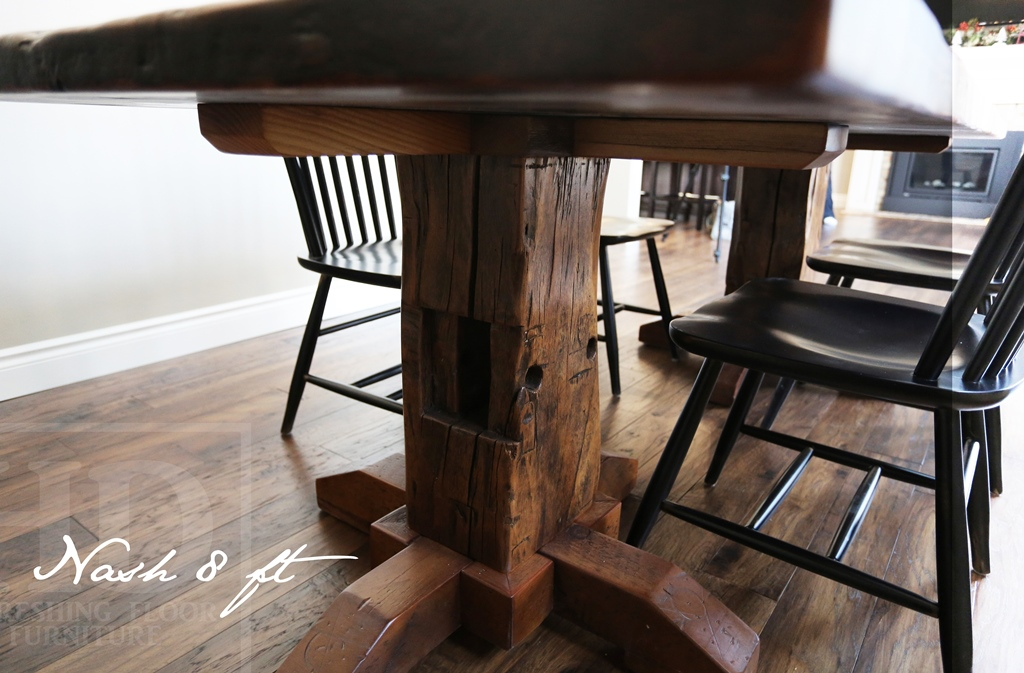 kitchener home furniture reclaimed wood pedestal table in kitchener ontario home 13888