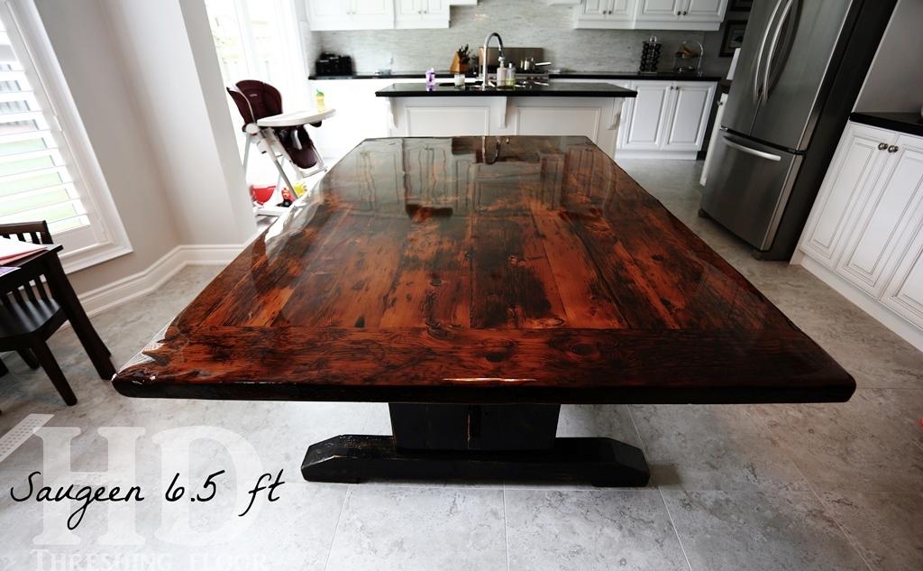The High Gloss Option Ancaster Reclaimed Wood Trestle  : Reclaimed Wood Tables Ancaster Ontario Epoxy Farmhouse 3 from www.hdthreshing.com size 1024 x 633 jpeg 292kB