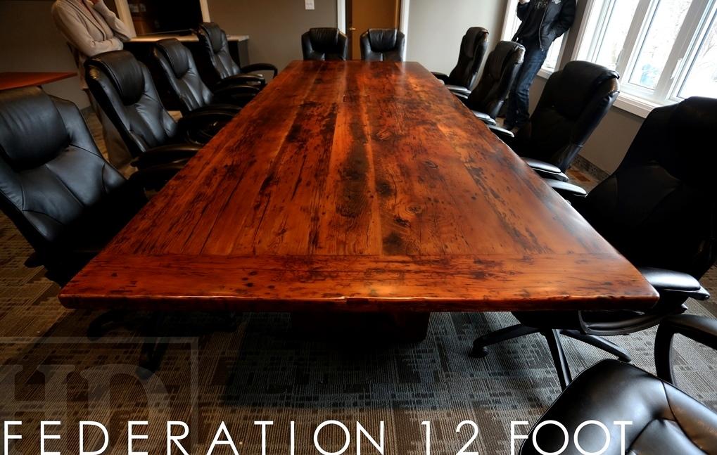 Boardroom Tables GUELPH ONTARIO Gerald Reinink Unique Ontario Solid Wood Table