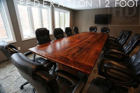Boardroom Tables Ontario Guelph Reclaimed Wood Epoxy Polyurethane 9 Blog