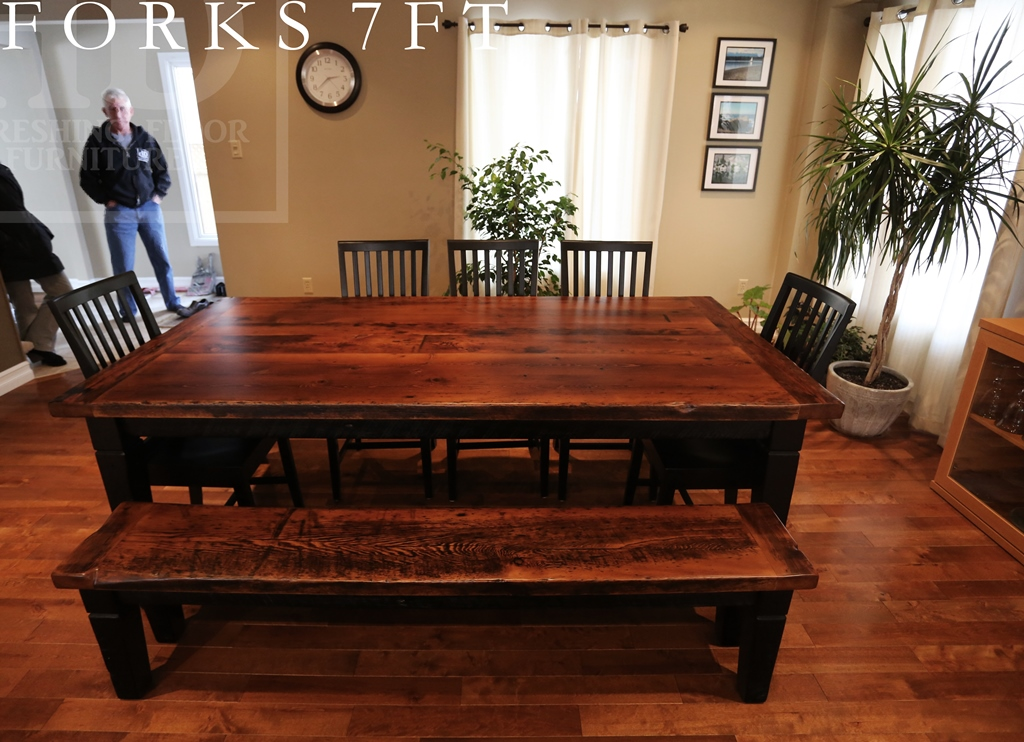 Harvest Table, Toronto, Ontario, Epoxy, Barnwood, Farmhouse, Dining, Reinink