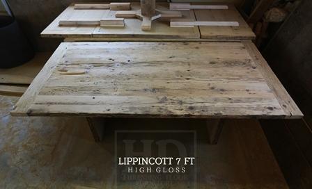 Reclaimed Barnwood Table Toronto Ontario Epoxy High Gloss Hemlock HD Thresh  (9) | Blog
