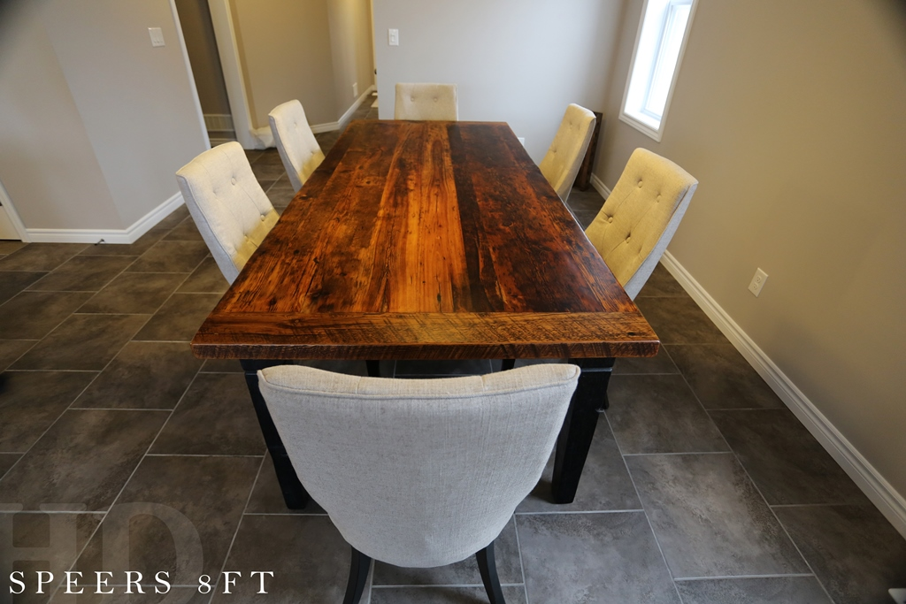 Kitchener Tables, Reclaimed Wood Tables Ontario, Solid Wood Furniture  Kitchener, Mennonite Furniture Ontario