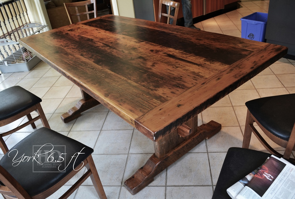 Farmhouse Kitchen Tables Reclaimed Wood